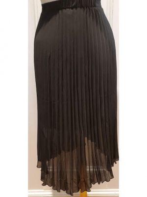 ESQUALO – Plisse Overlap Skirt